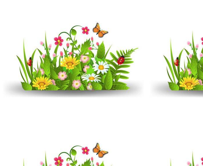 Tapeta Pixerstick Květiny Bush - Roční období