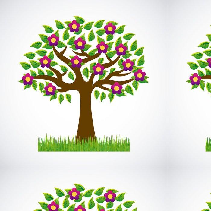 Tapeta Pixerstick Květiny designu - Domov a zahrada