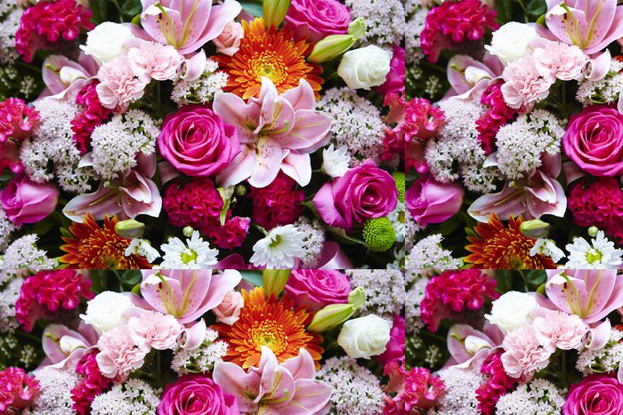 Tapeta Pixerstick Květiny - Mezinárodní svátky