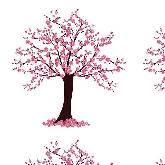 Tapeta Pixerstick Kvetoucí třešeň - Styly