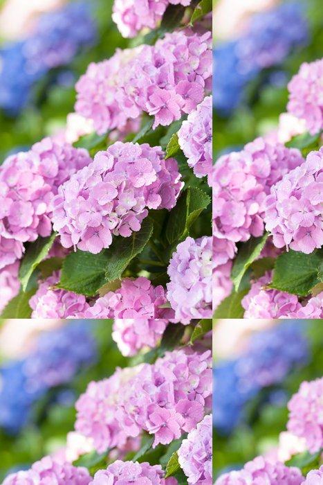 Tapeta Pixerstick Květy hortenzie - Květiny