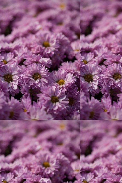 Vinylová Tapeta Kytice Chryzantémy - Květiny