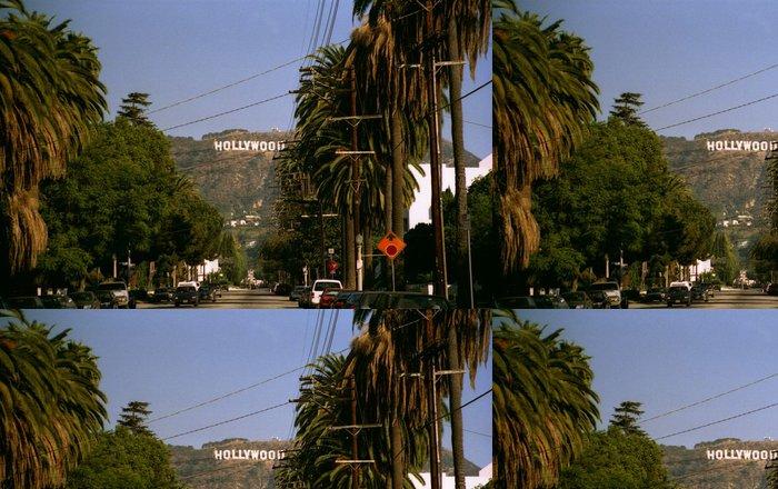 Tapeta Pixerstick La hollywood - Témata