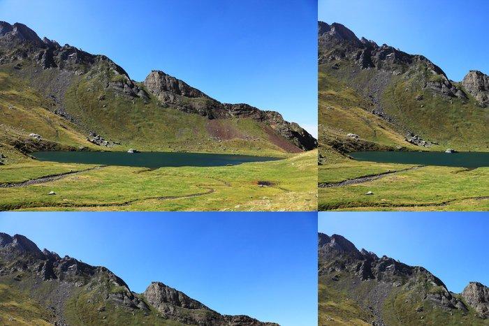 Tapeta Pixerstick Lac D'Anglas - Hory