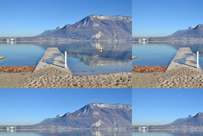 Tapeta Pixerstick Lac d'Annecy-Haute Savoie - Evropa