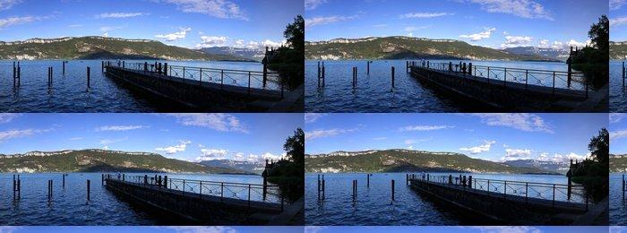 Tapeta Pixerstick Lac du Bourget - Voda