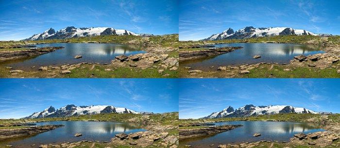 Tapeta Pixerstick Lac Noir et la Meije (plateau d'Emparis) - Evropa