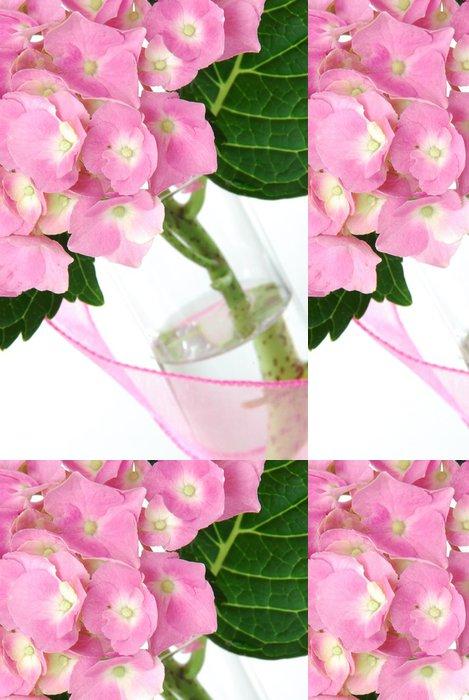 Tapeta Pixerstick Lacecap Hydrangea - Květiny