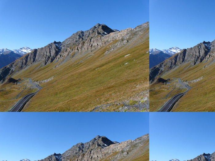 Tapeta Pixerstick Lacety de l'vzestupu au Col Agnel côté français - Evropa