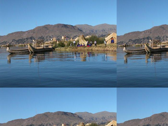 Tapeta Pixerstick Lago di Titicaca - Perù - Témata
