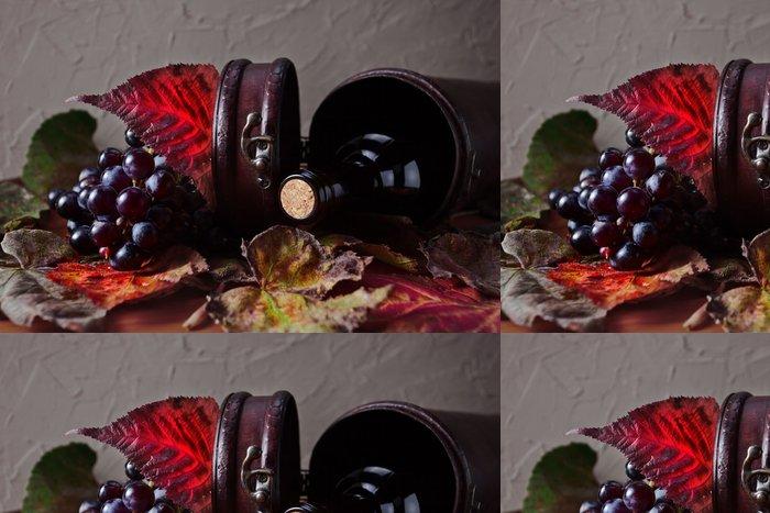 Tapeta Pixerstick Láhev s vínem - Témata