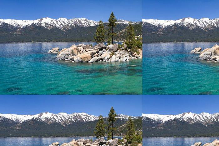Tapeta Pixerstick Lake Tahoe s výhledem na pohoří Sierra Nevada - iStaging