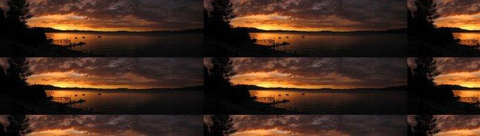 Tapeta Pixerstick Lake Tahoe západ slunce - Voda