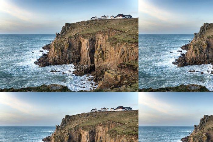 Tapeta Pixerstick Lands End v Cornwallu - Evropa