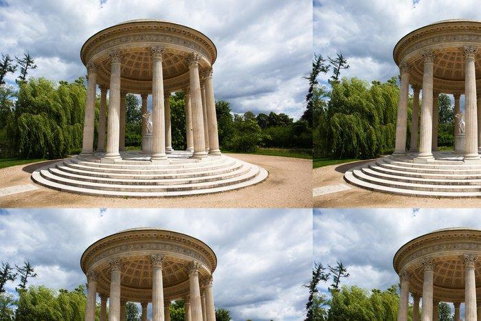 Tapeta Pixerstick Láska chrám v Marie Antoinetty panství Versailles Chateau - Evropská města