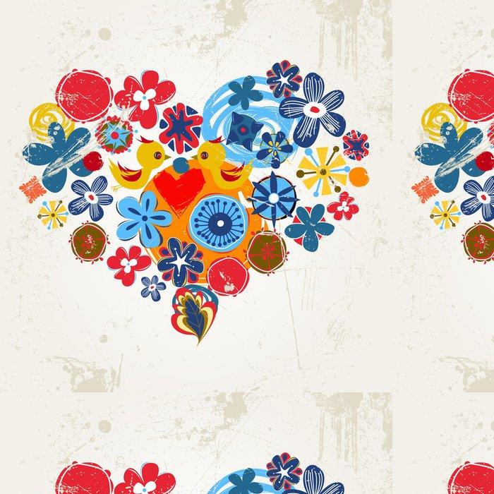 Vinylová Tapeta Láska květina - Pozadí