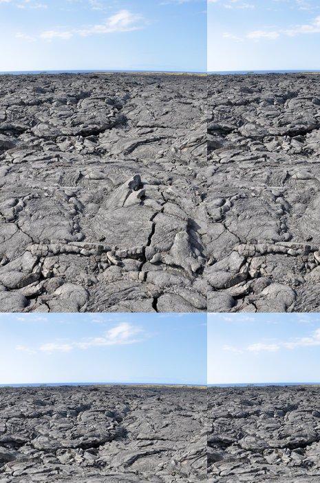 Tapeta Pixerstick Lava pole, velký ostrov, Hawaii (USA) - Amerika