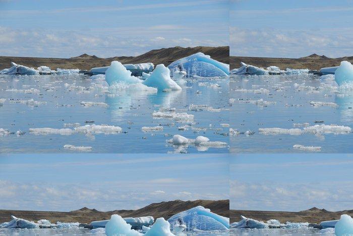 Vinylová Tapeta Ledovce voda - Voda