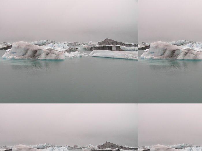 Tapeta Pixerstick Ledovce - Evropa