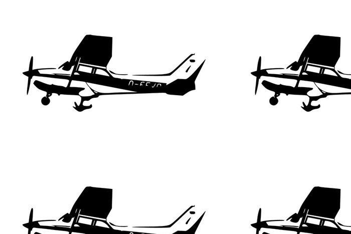 Tapeta Pixerstick Leichtflugzeug - Vzduch