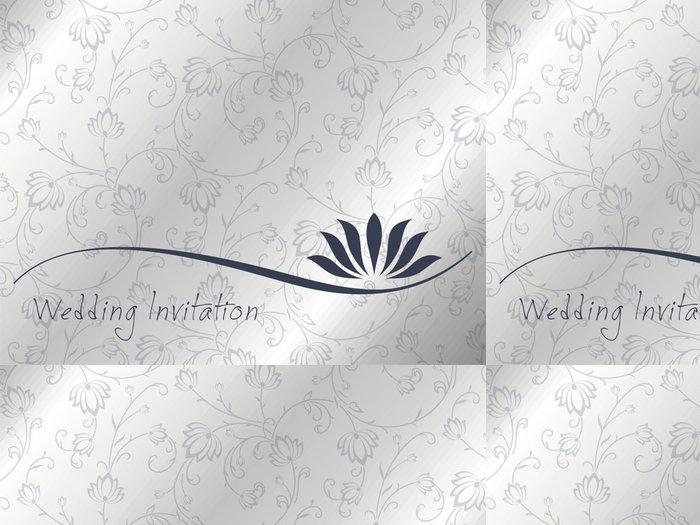 Tapeta Pixerstick Leknín, svatební oznámení design, Indie - Slavnosti