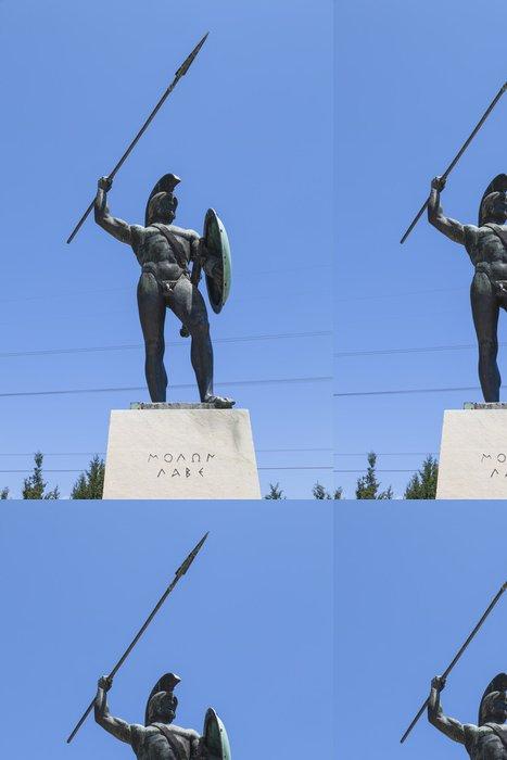 Tapeta Pixerstick Leonidas socha, Thermopyly, Řecko - Evropa