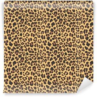 Vinylová Tapeta Leopard seamless pattern design, vektorové ilustrace pozadí