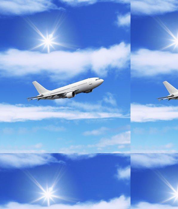 Tapeta Pixerstick Letadla: letadla ve velké modré obloze - Vzduch