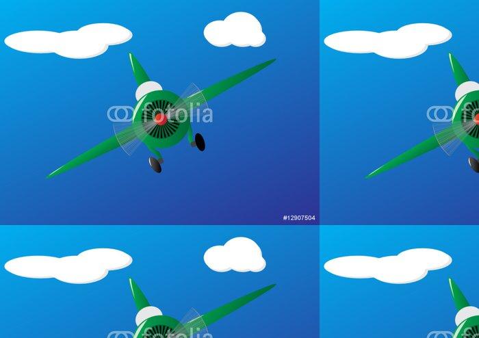 Tapeta Pixerstick Letadlo - Vzduch