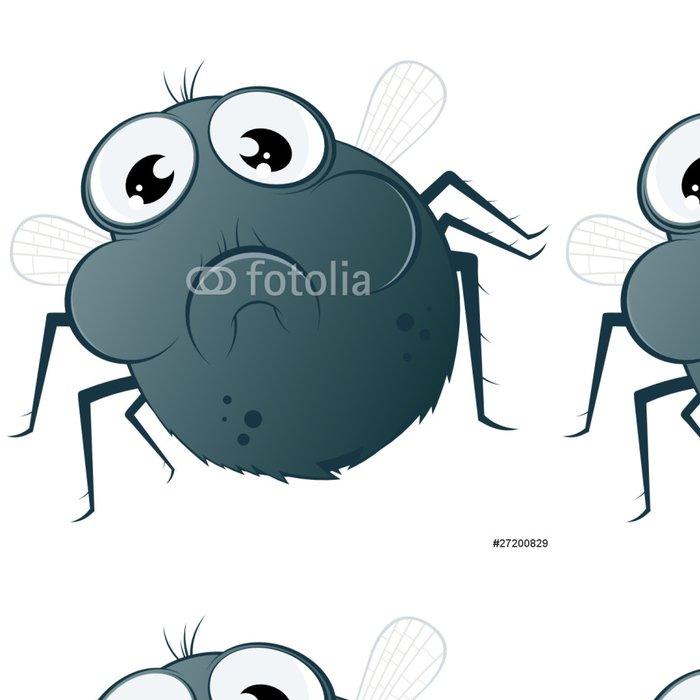 Tapeta Pixerstick Létat hmyz kreslený legrační - Ostatní Ostatní