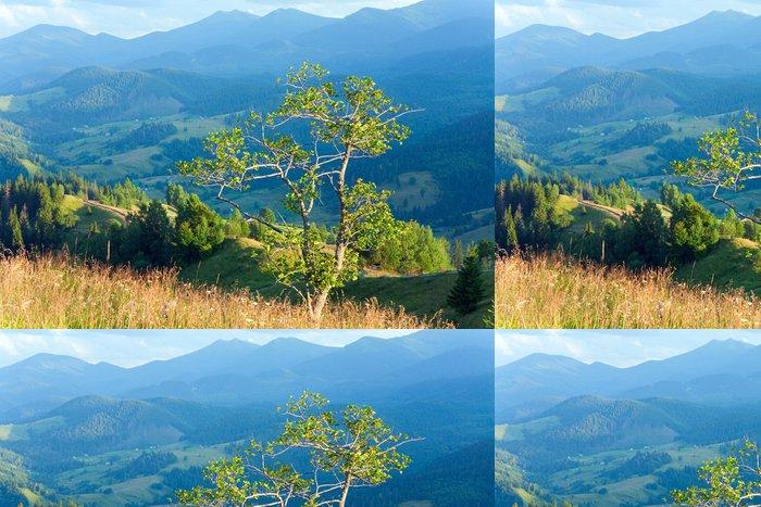 Tapeta Pixerstick Letní horské krajiny - Roční období