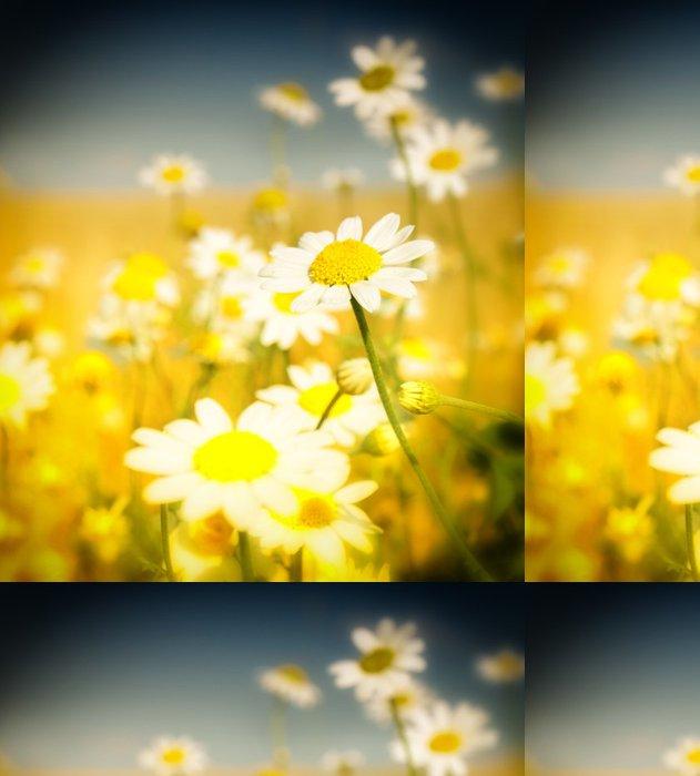 Vinylová Tapeta Letní květy - Roční období