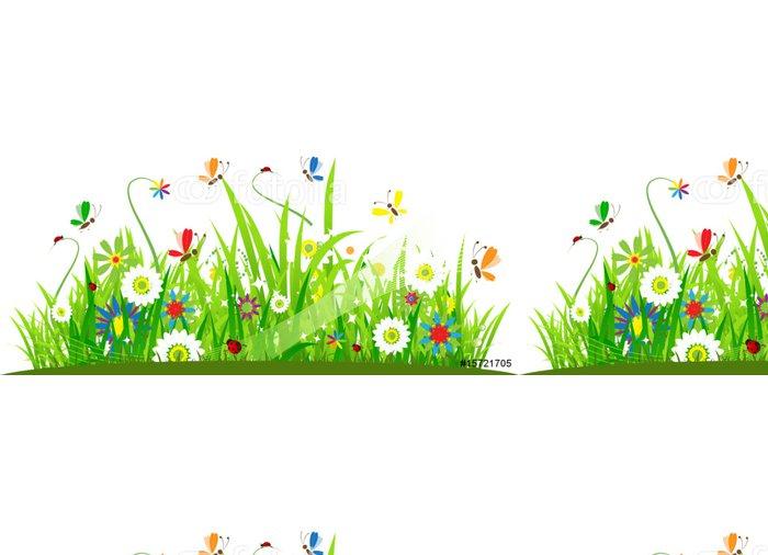 Tapeta Pixerstick Letní louka krásná - Roční období