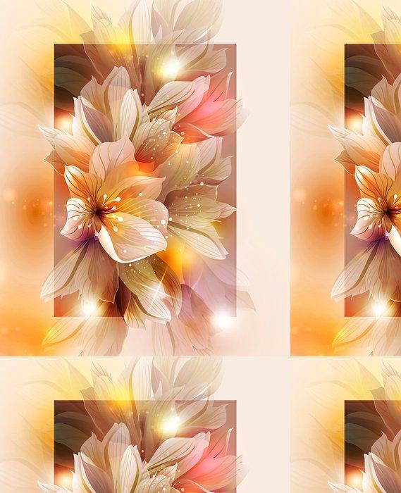 Tapeta Pixerstick Letní nebo na jaře vektorové ilustrace pro svěží design - Pozadí