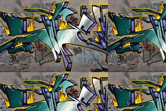 Tapeta Pixerstick Lettrage graffiti - Témata