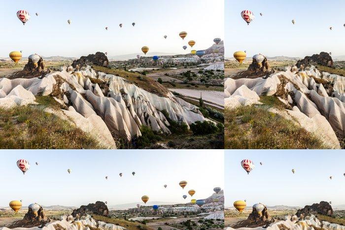 Vinylová Tapeta Lety horkovzdušným balónem v Kappadokii - Evropa