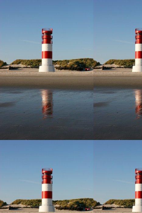 Tapeta Pixerstick Leuchtturm am Düne-Südstrand (Helgoland) - Infrastruktura