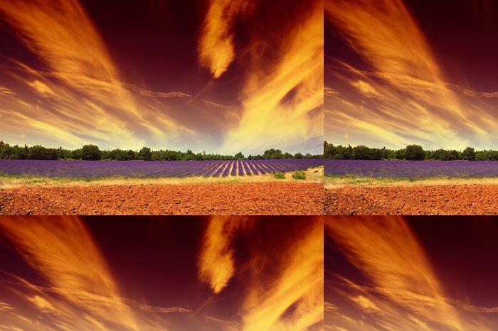 Tapeta Pixerstick Levandule a nebe lehké - Roční období