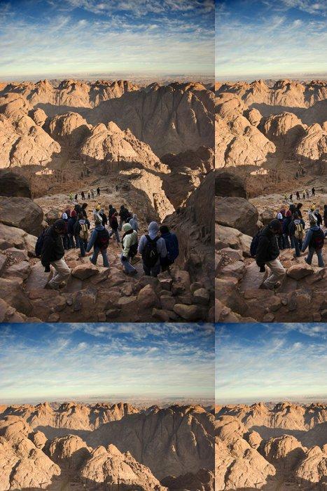 Tapeta Pixerstick Lezení na horu Sinai, Egypt - Afrika