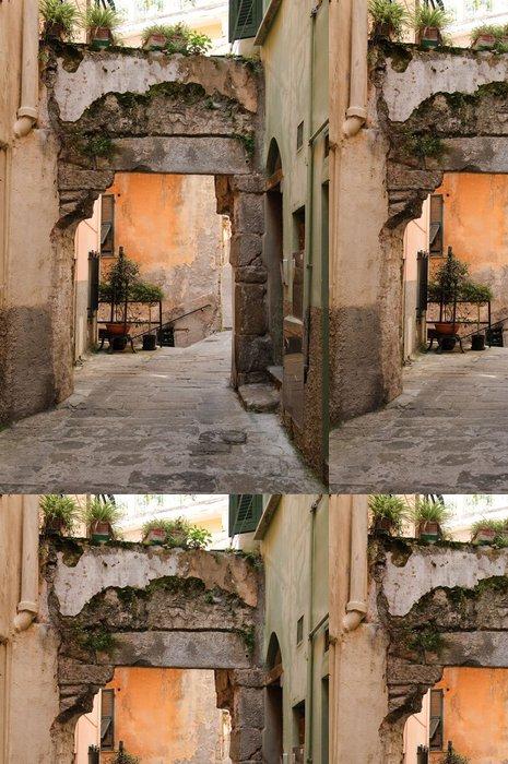 Vinylová Tapeta Liguria, Cinque Terre, typická ulice - Témata