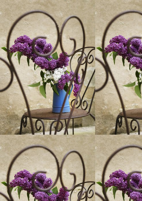 Tapeta Pixerstick Lilac Bouquet - Domov a zahrada