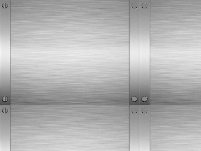 Tapeta Pixerstick List tavené kartáčované oceli nebo kovu - Styly