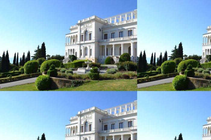 Vinylová Tapeta Livadia Palace Krym Ukrajina postaven v roce 1911 architektem Krasnov. - Památky