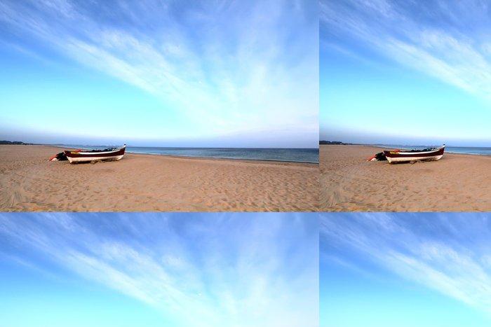 Vinylová Tapeta Loď obsadí loď na pláži, Lagos, Portugalsko - Evropa