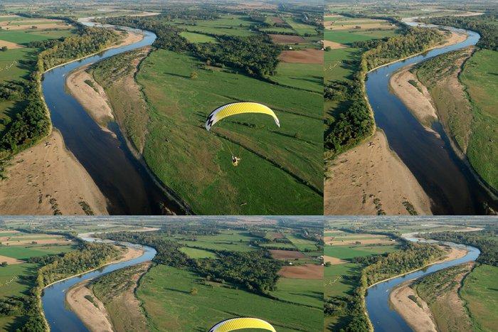 Tapeta Pixerstick Loire k obloze v ultralehkých paramotor - Ostatní Ostatní