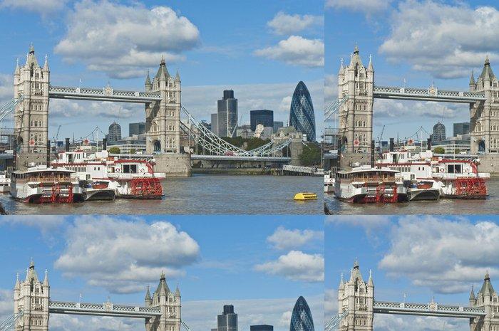 Vinylová Tapeta London Tower Bridge - Témata