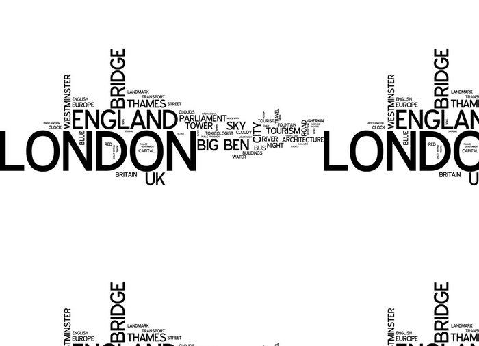 Vinylová Tapeta Londýn (Velká Británie / Anglie) - Evropská města