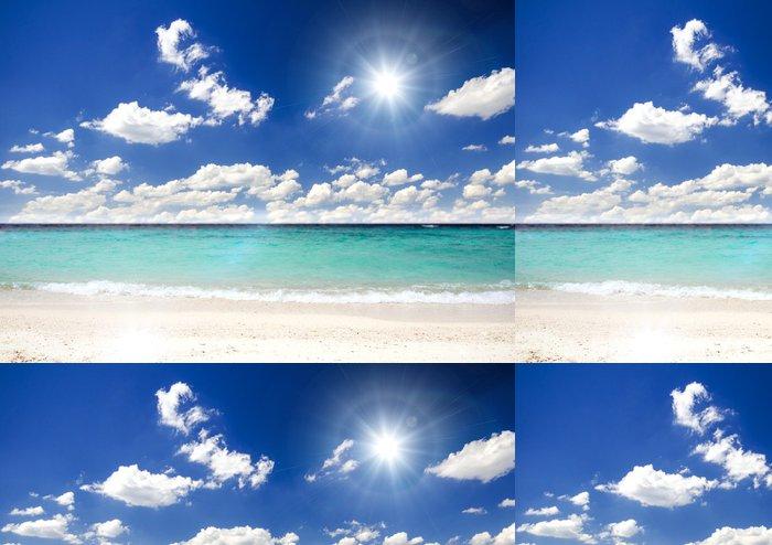 Tapeta Pixerstick Lonely Caribbean Dream beach :) - Amerika