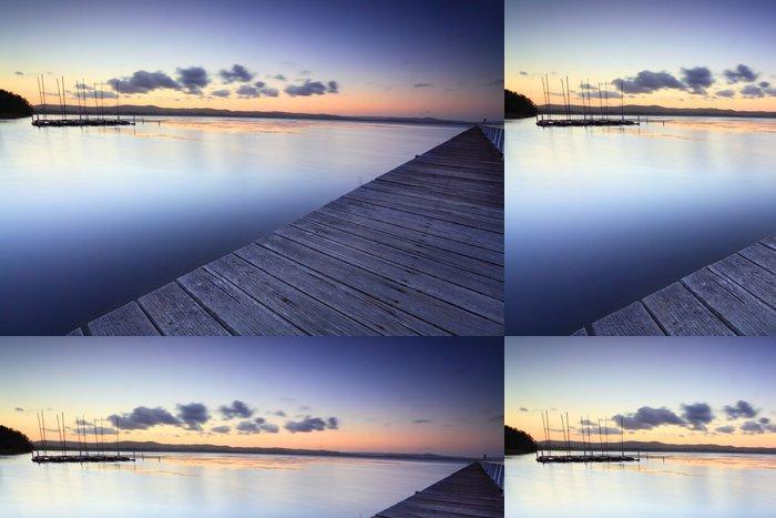 Tapeta Pixerstick Long Jetty Austrálie za soumraku - Témata