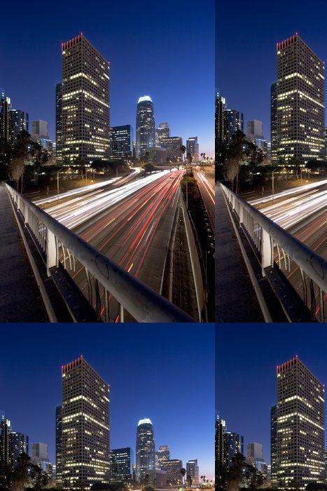 Tapeta Pixerstick Los Angeles v noci - Témata